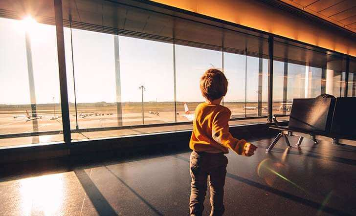Separated parents and travel abroad during Covid