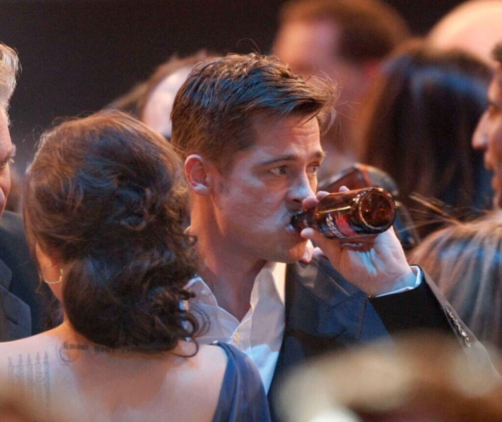 Brad Pitt alcohol