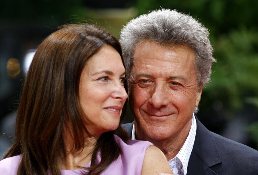 Dustin Hoffman and wife Lisa