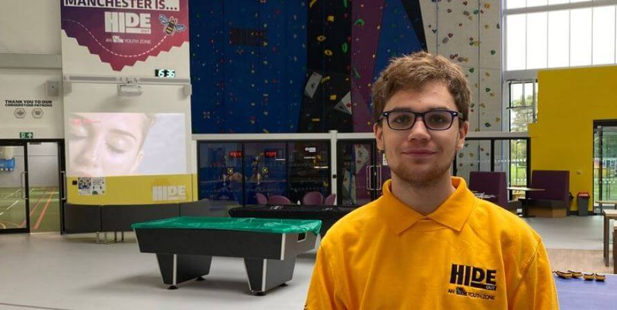 HideOut Youth Zone – flying the flag for young Mancunians