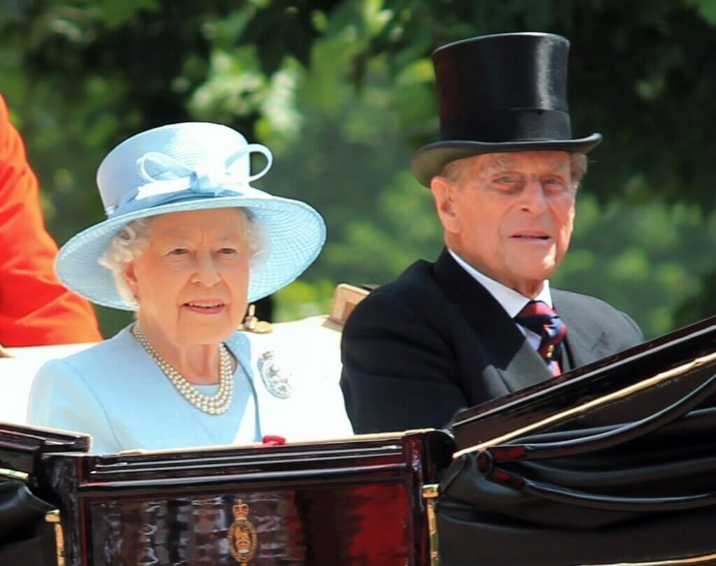 Prince Philip and Queen Elizabeth,